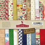 FarmHouse Paper Company - Country Kitchen Collection - 12 x 12 Paper Pack - From Scratch