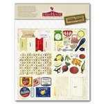 FarmHouse Paper Company - Country Kitchen Collection - Cardstock Stickers