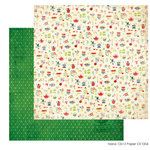 FarmHouse Paper Company - Country Kitchen Collection - 12 x 12 Double Sided Paper - Nana
