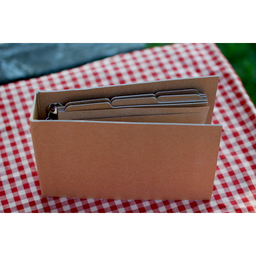 FarmHouse Paper Company - Dry Goods Collection - 10 x 7 Craft Album