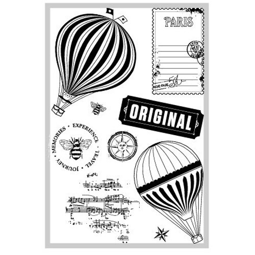 FarmHouse Paper Company - Fair Skies Collection - Clear Acrylic Stamps - Dusk