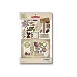 FarmHouse Paper Company - Norland Collection - Chipboard Stickers - Balsam