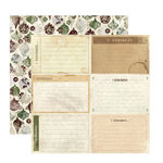 FarmHouse Paper Company - Norland Collection - 12 x 12 Double Sided Paper - Bethel