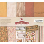 FarmHouse Paper Company - Sugar Hill Collection - 12 x 12 Paper Pack - Autumn