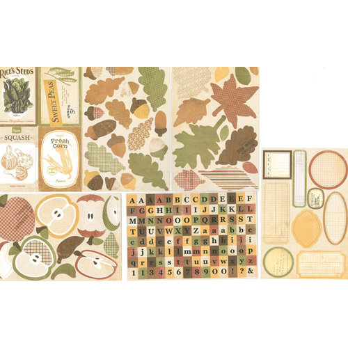 FarmHouse Paper Company - Sugar Hill Collection - Cardstock Stickers