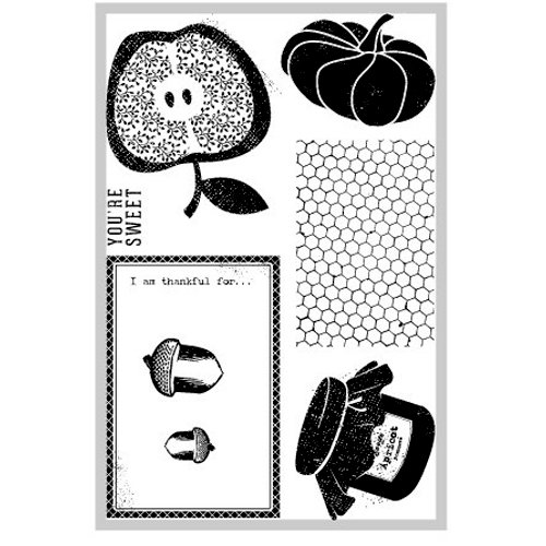 FarmHouse Paper Company - Sugar Hill Collection - Clear Acrylic Stamps - Fall