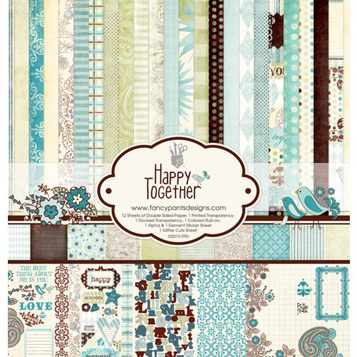 Fancy Pants Designs - Happy Together Collection - 12 x 12 Paper Kit