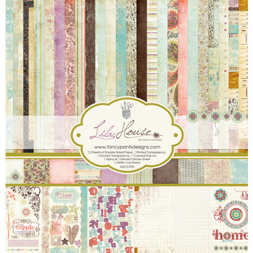 Fancy Pants Designs - Lilac House Collection - 12 x 12 Paper Kit