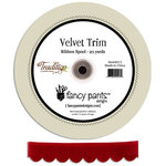 Fancy Pants Designs - Tradition Collection - Christmas - Velvet Ribbon - 25 Yards, CLEARANCE