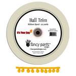 Fancy Pants Designs - It's Your Day Collection - Mini Ball Trim - 25 Yards, CLEARANCE