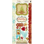 Fancy Pants Designs - Tradition Collection - Christmas - Cardstock Stickers - Element