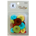 Fancy Pants Designs - Tradition Collection - Christmas - Buttons, CLEARANCE