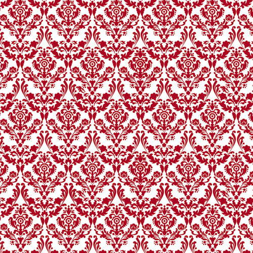 Fancy Pants Designs - Tradition Collection - Christmas - 12 x 12 Flocked Transparent Overlays