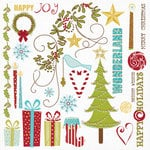 Fancy Pants Designs - Tradition Collection - Christmas - Rub Ons