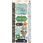 Fancy Pants Designs - Like Father Like Son Collection - Cardstock Stickers - Element