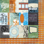 Fancy Pants Designs - Like Father Like Son Collection - 12 x 12 Double Sided Paper - Cards