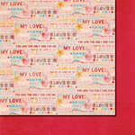 Fancy Pants Designs - Love Birds Collection - 12 x 12 Double Sided Paper - Only One