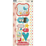 Fancy Pants Designs - Love Birds Collection - Cardstock Stickers - Element
