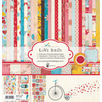 Fancy Pants Designs - Love Birds Collection - 12 x 12 Paper Kit