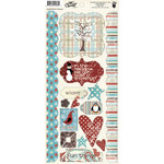 Fancy Pants Designs - Hot Chocolate Collection - Cardstock Stickers - Element