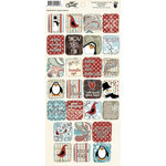 Fancy Pants Designs - Hot Chocolate Collection - Cardstock Stickers - Square