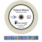 Fancy Pants Designs - Beach Bum Collection - Printed Ribbon - 25 Yards