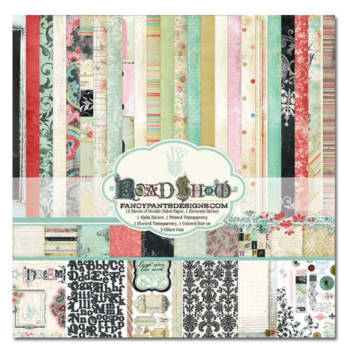 Fancy Pants Designs - Road Show Collection - 12 x 12 Paper Kit
