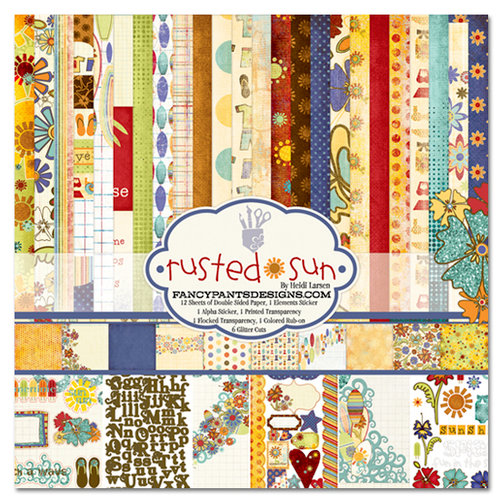Fancy Pants Designs - Rusted Sun Collection - 12 x 12 Paper Kit