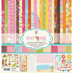 Fancy Pants Designs - Beach Babe Collection - 12 x 12 Paper Kit, CLEARANCE