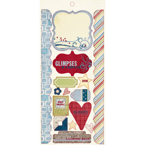 Fancy Pants Designs - My Family Collection - Cardstock Stickers - Element