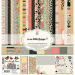 Fancy Pants Designs - It's the Little Things Collection - 12 x 12 Paper Kit
