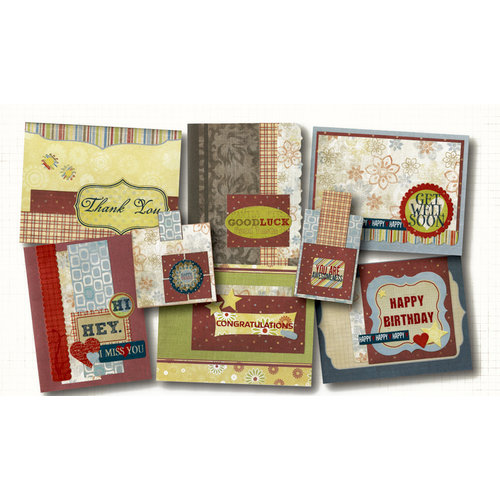 Fancy Pants Designs - My Family Collection - Card Kit