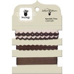 Fancy Pants Designs - Artist Edition Collection - Ribbon Card - Brown