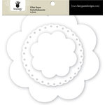 Fancy Pants Designs - Artist Edition Collection - Filter Flower Paper Embellishments - Floral