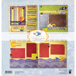 Fancy Pants Designs - Beach Bum Collection - 12 x 12 Layout Kit
