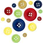 Fancy Pants Designs - My Family Collection - Buttons, CLEARANCE