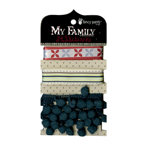 Fancy Pants Designs - My Family Collection - Ribbon Card