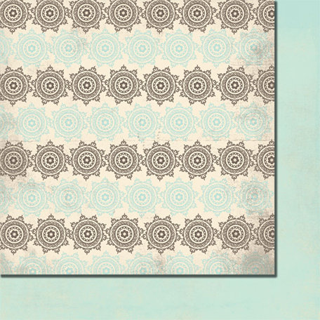 Fancy Pants Designs - Summer's End Collection - 12 x 12 Double Sided Paper - Changing