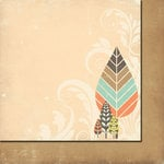 Fancy Pants Designs - Summer's End Collection - 12 x 12 Double Sided Paper - Crisp