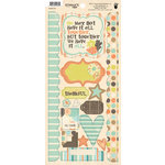 Fancy Pants Designs - Summer's End Collection - Cardstock Stickers - Element