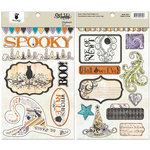 Fancy Pants Designs - Oct 31st Collection - Halloween - Chipboard Stickers - Shapes