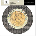 Fancy Pants Designs - Oct 31st Collection - Halloween - Filter Flower Paper Embellishments