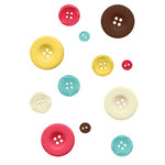 Fancy Pants Designs - Off to School Collection - Buttons