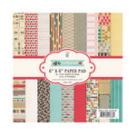 Fancy Pants Designs - Off to School Collection - 6 x 6 Paper Pad