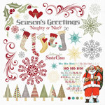 Fancy Pants Designs - Saint Nick Collection - Christmas - Rub Ons