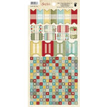 Fancy Pants Designs - Saint Nick Collection - Christmas - Cardstock Stickers - Tab