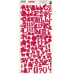 Fancy Pants Designs - Love Story Collection - Alphabet Cardstock Stickers