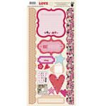 Fancy Pants Designs - Love Story Collection - Cardstock Stickers - Element