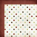 Fancy Pants Designs - Winterland Collection - 12 x 12 Double Sided Paper - Shiver