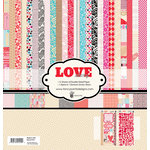 Fancy Pants Designs - Love Story Collection - 12 x 12 Paper Kit